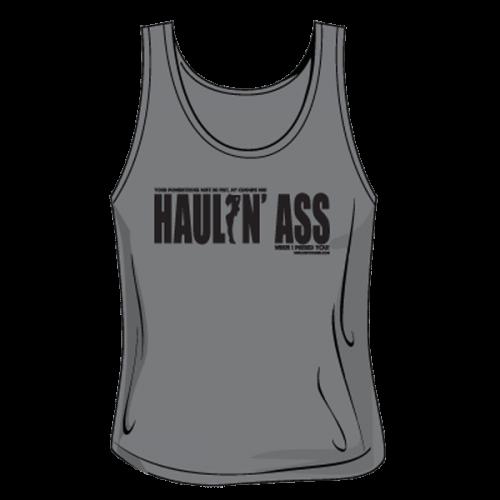Haulin Ass Tank - Womens Grey